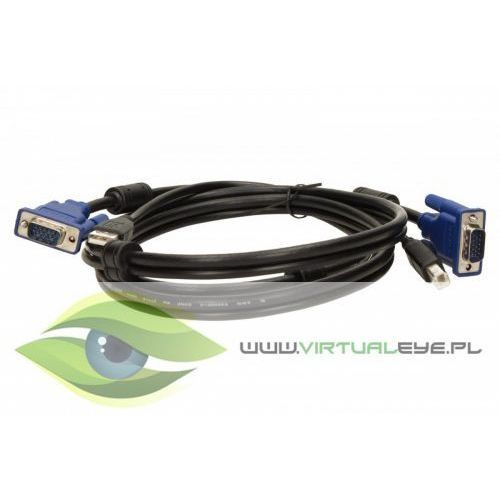 Zestaw kabli do kvm z usb dkvm-cu D-link