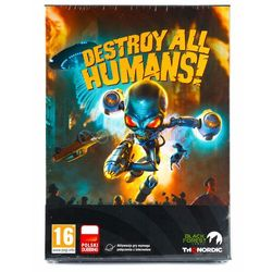 Thq Destroy all humans - edycja crypto-137 pc