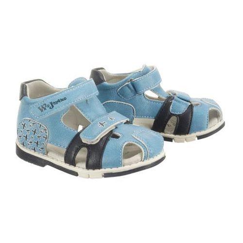 WOJTYŁKO 1S1099 niebieski, sandały dziecięce, rozmiary: 20-23 - Niebieski, kolor niebieski