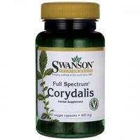 Swanson Corydalis (Kokorycz) 400mg - (60 kap) (0087614116167)