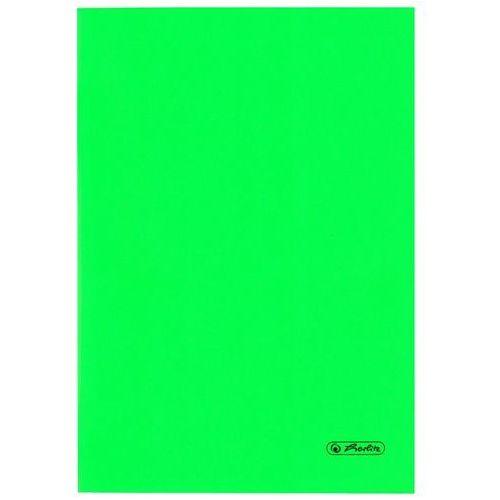 Herlitz Zeszyt b5 60k kratkę okładka folii pp - zielony