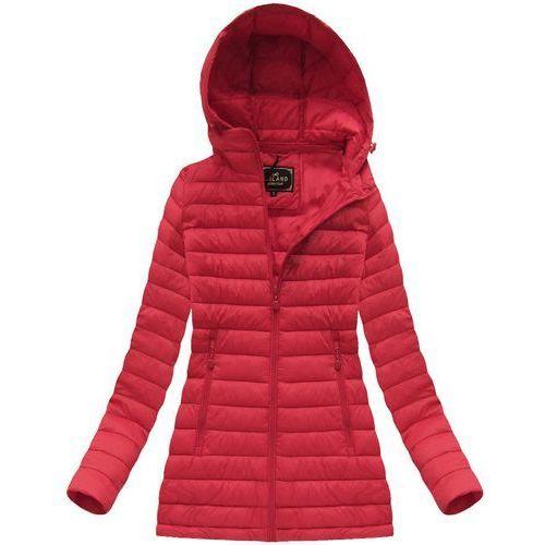 9f850335c0db2 Pikowana kurtka z kapturem czerwona (7236) - czerwony marki Libland