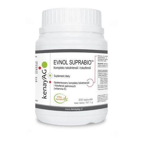 Kapsułki Kenay Evnol Suprabio kompleks tokotrienoli i tokoferioli (wit. E) 300 kapsułek - suplement diety