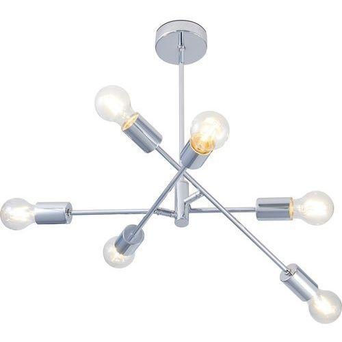 Lighting Lampa Wisząca Pomezia Chrom 6x60 W E27 Obi