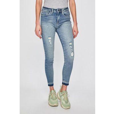 Spodnie damskie Tommy Hilfiger ANSWEAR.com