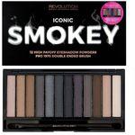 Iconic smokey paleta 12 cieni 13g - marki Makeup revolution