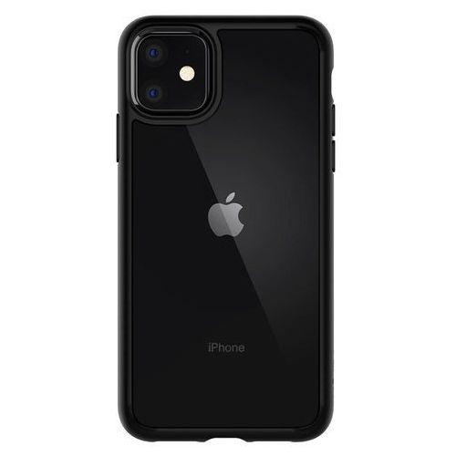Etui Ultra Hybrid na iPhone 11 czarna ramka (SPIGEN)