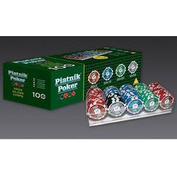 Piatnik , zestaw pokerowy, propoker 100 żetonów