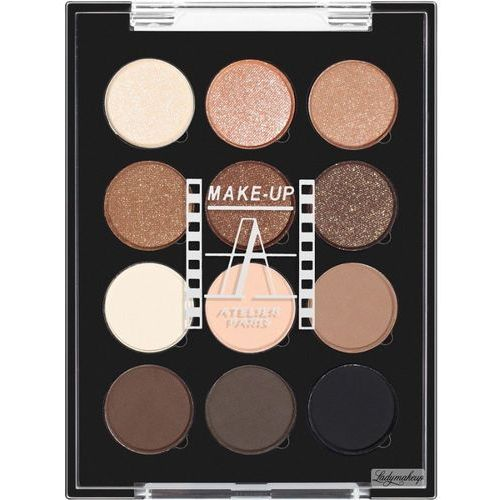 Make up atelier paris palette 12 eyeshadow paleta 12 - Atelier d artiste a vendre paris ...