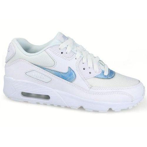 Damskie Nike Air Max90 833418-111 białe, skóra/siatka NEW, 833418-111
