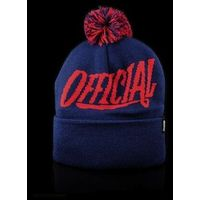czapka zimowa OFFICIAL - 1D Pom (000)