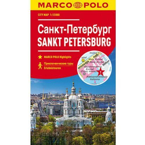 MARCO POLO Citymap Cityplan Sankt Petersburg 1:12000, praca zbiorowa