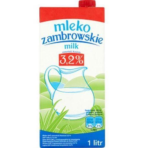 Mleko 1l. 3,2% op.12 Zambrowskie