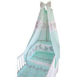 Cosing 4 – częściowy zestaw pościeli do łóżeczka comfort jasnozielony