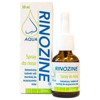 Spray Rinozine Aqua spray do nosa 30ml