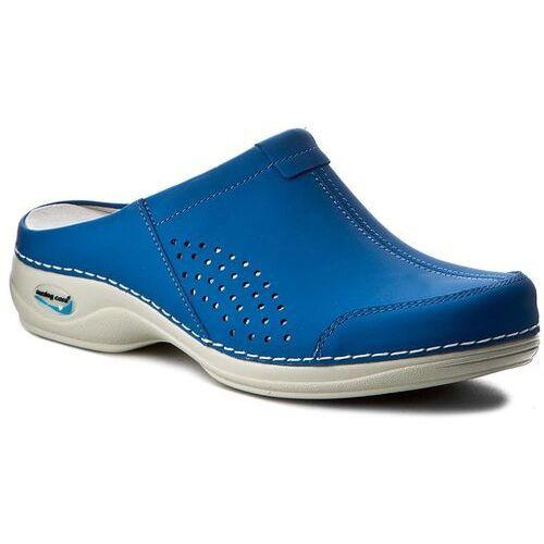 50cb852b56518 Klapki NURSING CARE - Venezia WG3A07 Electric Blue, kolor niebieski ...