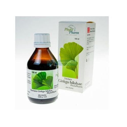 Tinctura ginkgo bilobae 100 g (Phytopharm)