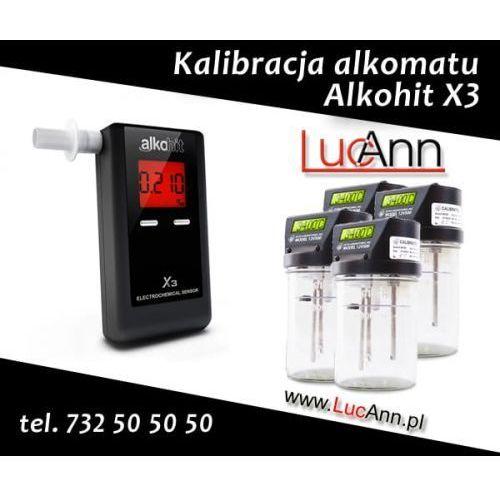 Kalibracja alkomatu Alkohit X3 + Świadectwo kalibracji