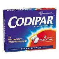 Tabletki CODIPAR 500mg x 6 tabletek