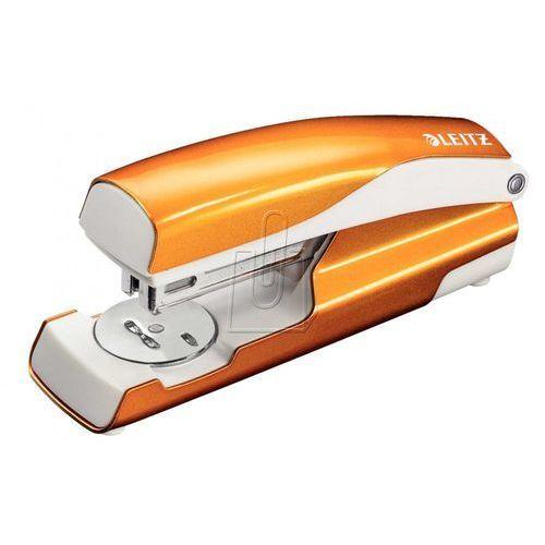 Zszywacz LEITZ 5502 WOW metalowy - pomarańcz (4002432396023)