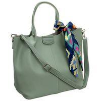 Torebka damska shopper bag zielona david jones cm5623
