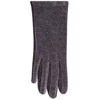 Rękawiczki damskie srebrne błyszczące 23