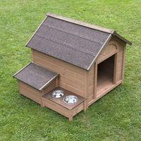 5x punky bonusowebuda dla psa sylvan komfort - l: szer. x gł. x wys.: 104 x 91 x 81 cm marki Zooplus exclusive
