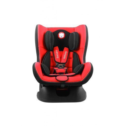 Lionelo Fotelik samochodowy liam 0-18 kg czerwony + akcesoria