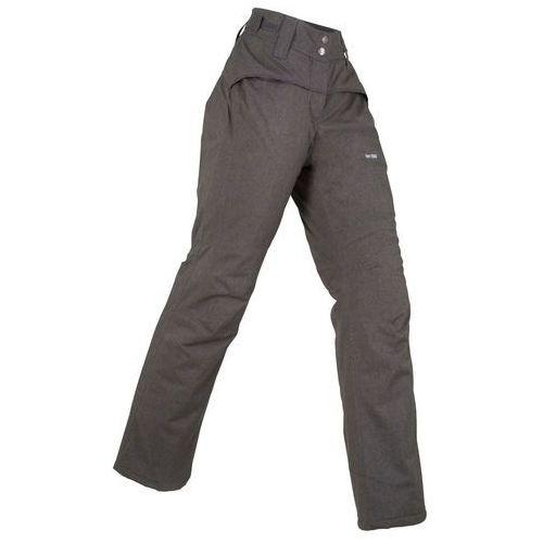 Bonprix Spodnie termoaktywne funkcyjne, długie szary melanż