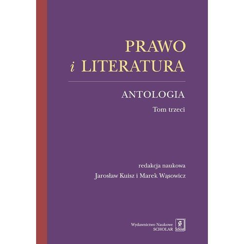 Prawo i literatura. Antologia, oprawa miękka