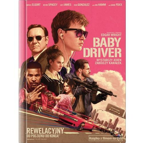 Baby driver (książka + dvd) - edgar wright. darmowa dostawa do kiosku ruchu od 24,99zł Imperial cinepix