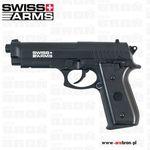Wiatrówka cybergun swiss arms pt92 4,5 mm (288026) - co2, kulki bb, dao marki Cyber gun