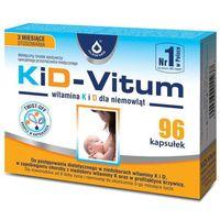 Kapsułki KiD-VITUM Witamina K i D dla niemowląt kapsułki twist-off x 96 sztuk