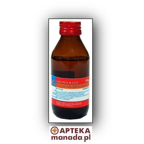 Sirupus Kalii guajacolosulfonici syrop 0,6 125 g