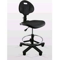 U.b.m Krzesło lekarskie tb4 z podparciem na nogi i oparciem