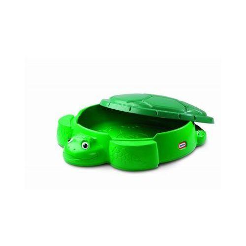 Little tikes Piaskownica żółw zielona +darmowa dostawa przy płatności kup z twisto