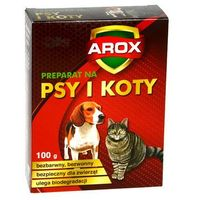 Arox Środek odstraszający koty i psy. preparat na koty i psy. .