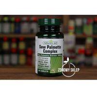 Tabletki Natures Aid Saw Palmetto Complex palma sabałowa 60 tabletek
