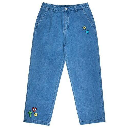 Spodnie - indira jeans light denim (light denim) rozmiar: 10 marki Santa cruz
