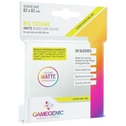 Gamegenic: Matte Big Square-Sized Sleeves 82x82mm