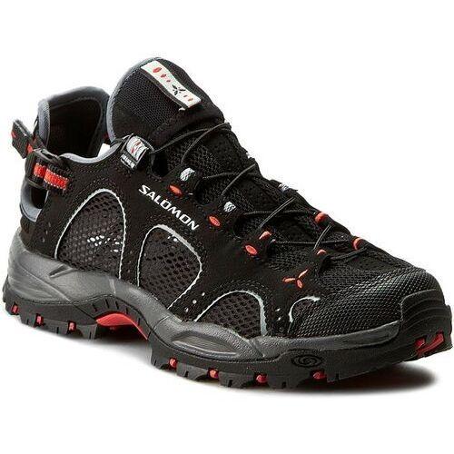 Nowe buty techamphibian 3 w black, rozmiar 38/23.5cm marki Salomon