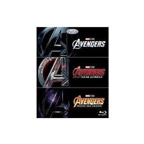 Joss whedon, anthony russo, joe russo Avengers trylogia (3bd) (płyta bluray)
