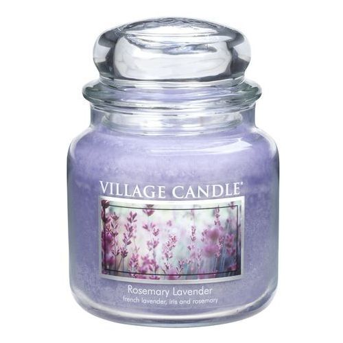 Village candle świeczka zapachowa rozmaryn i lawenda - rosemary lavender, 397 g, 397 g