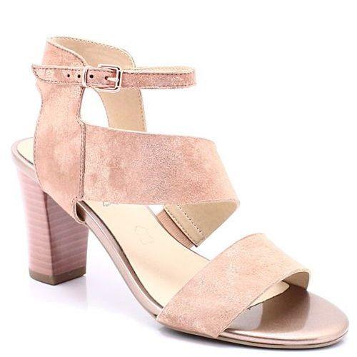 9-28315-20 różowe - eleganckie letnie, Caprice