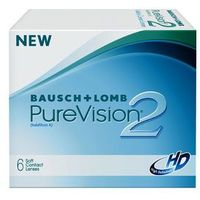 Bausch & lomb Pure vision 2hd 6 szt.