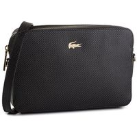 Torebka LACOSTE - Square Crossover Bag NF2731CE Black 000