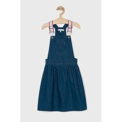 caa3e7e0fa Tommy Hilfiger - Sukienka jeansowa dziecięca 128-176 cm ANSWEAR.com