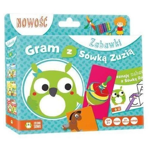 Gram z sówką zuzią. zabawki marki Zielona sowa