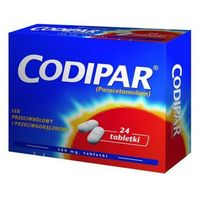 Tabletki CODIPAR x 24 tabletki