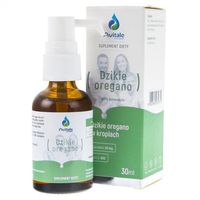 Avitale Dzikie oregano w kroplach (90% karwakołu) - 30 ml (5902596935771)